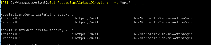 get-activesyncvirtualdirectory